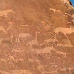 Engraved rock art at Twyfelfontein