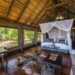 Interior view of a guest suite at Savuti Camp