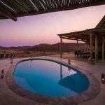 A small swimming pool at Damaraland Camp