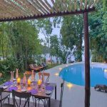 Swimming pool at Rubondo Island Camp