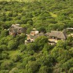 Aerial view of Ol Donyo safari camp