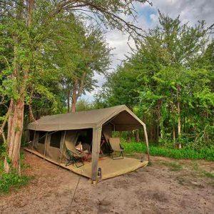 Nxai Pans Migration Camp