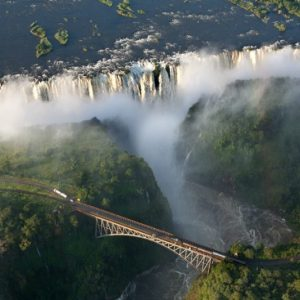 victoria falls, zambia, bridge, waterfall