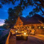 chamilandu, main area, dining room, night, view, africa, bush, zambia, south luangwa, african safari experts