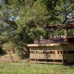 chamilandu, hide, water hole, waterhole, game viewing, bush, africa, zambia, south luangwa, african safari experts