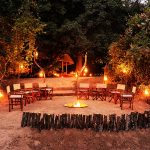 bilimungwe, dinner, dining, night time, africa, zambia, south luangwa, african safari experts