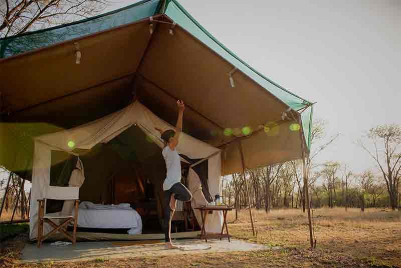 serians mobile safari camp in Africa