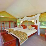 A twin bed room for children