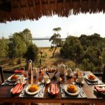 Breakfast with a view at Siwandu's elevated restaurant