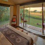 Encounter Mara tent view