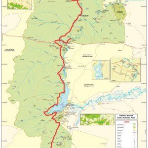 Map of Kafue National Park
