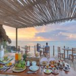 Matemwe lodge breakfast deck