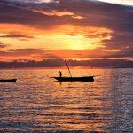 Matemwe lodge island sunset