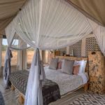 Ubuntu Camp guest tent interior