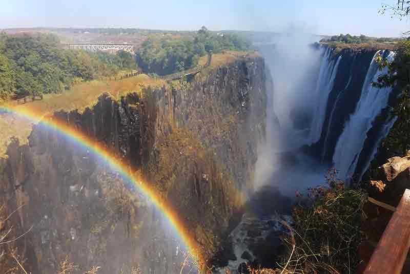 Secret places of Victoria Falls.