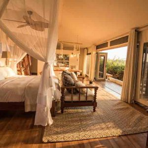Guest suite at Chikwenya lodge