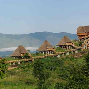 Kyaninga lodge guest cottages